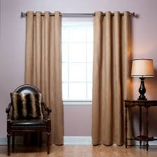 Patio Door Curtains Grommet Top by Amazon Com Best Home Fashion Thermal Insulated Faux Suede