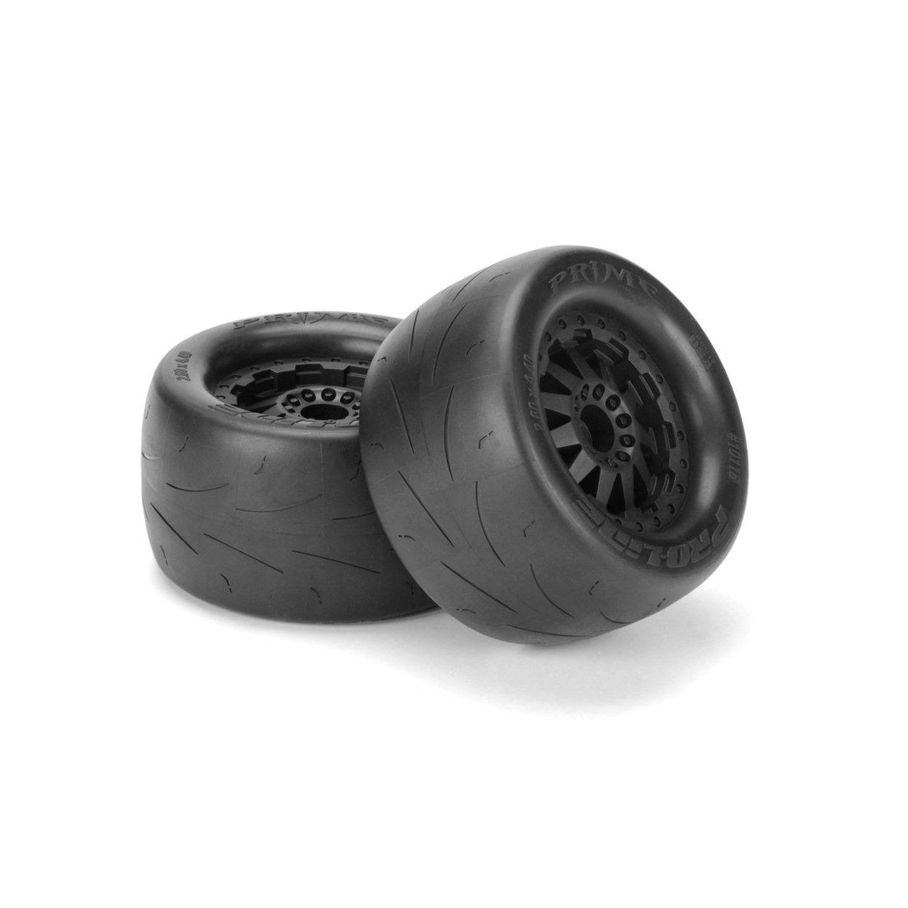 Pro-Line Racing Prime 2.8 Traxxas F11 Rear Wheel Tires - Black