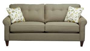 slumberland furniture la z boy laurel collection steel sofa