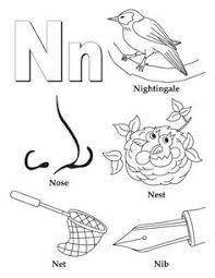 My A to Z Coloring Book Letter M coloring page