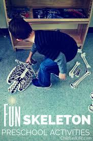 Shake Dem Halloween Bones Lesson by Fun Preschool Skeleton Activities
