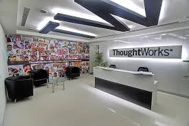 Interior Decorator Salary In India by Entrance Thoughtworks Office Photo Glassdoor Co In