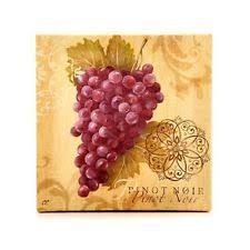 Wine And Grapes Kitchen Decor by Wine Kitchen Decor Ebay