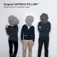 magic Gift carbon Power Nap Ostrich Pillow Winter Valentine Gift