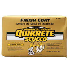 how long does plaster take to dry quikrete 80 lb stucco finish coat white 120180 the home depot