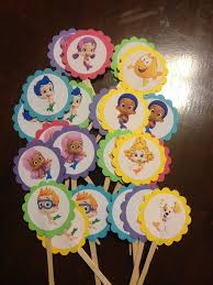 Bubble Guppies Cake Toppers by Best 25 Bubble Guppies Cupcakes Ideas On Pinterest Bubble