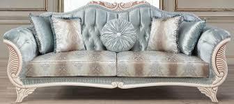 casa padrino luxus barock wohnzimmer sofa mit dekorativen kissen türkis creme bronze 232 x 87 x h 96 cm wohnzimmermöbel im barockstil