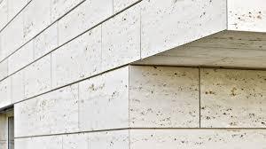 100 Travertine Facade Stone Slab Sandblasted For Floors For