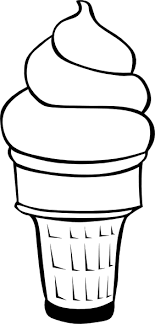 Ice Cream Coloring Pages 6
