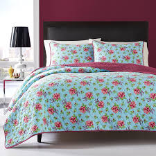Amazon Betsey Johnson Quilt Set Twin Multi Leopard Home