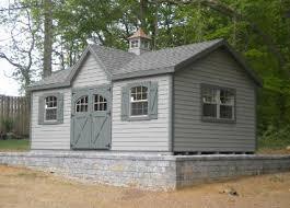 amish made cabana poolhouse guesthouse storage sheds