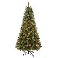 7 Foot Pre Lit Clearwater Slim Cashmere Tree With 500 Multi Color Lights