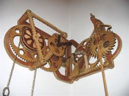 wooden gear clock plans free dxf pdf woodworking