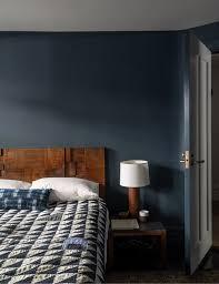 caparol nach farrow dunkelblaues schlafzimmer