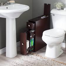 Narrow Bathroom Floor Storage by Belham Living Longbourn Narrow Bath Cabinet Hayneedle