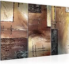 runa abstrakt bild wandbilder wohnzimmer beige braun