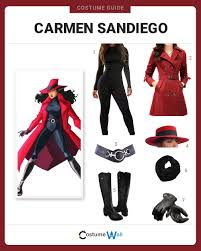 Halloween Express San Diego by Dress Like Carmen Sandiego Cosplay Costumes And Halloween Costumes