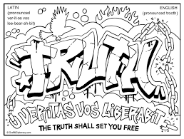 Multicultural Graffiti Free Coloring Pages
