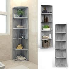 vicco eckregal beton regal küchenregal badezimmer gästebadezimmer bad 4 ablagen