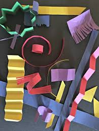 Paper Art For Kids Ideas Experimenting With Scissors And Glue