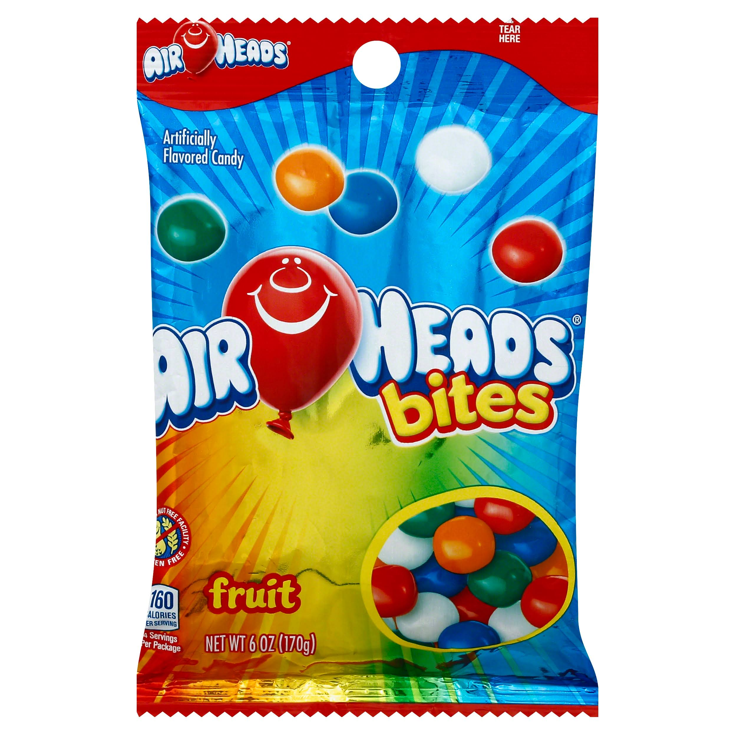 Airheads Candy, Bites, Fruit - 6 oz