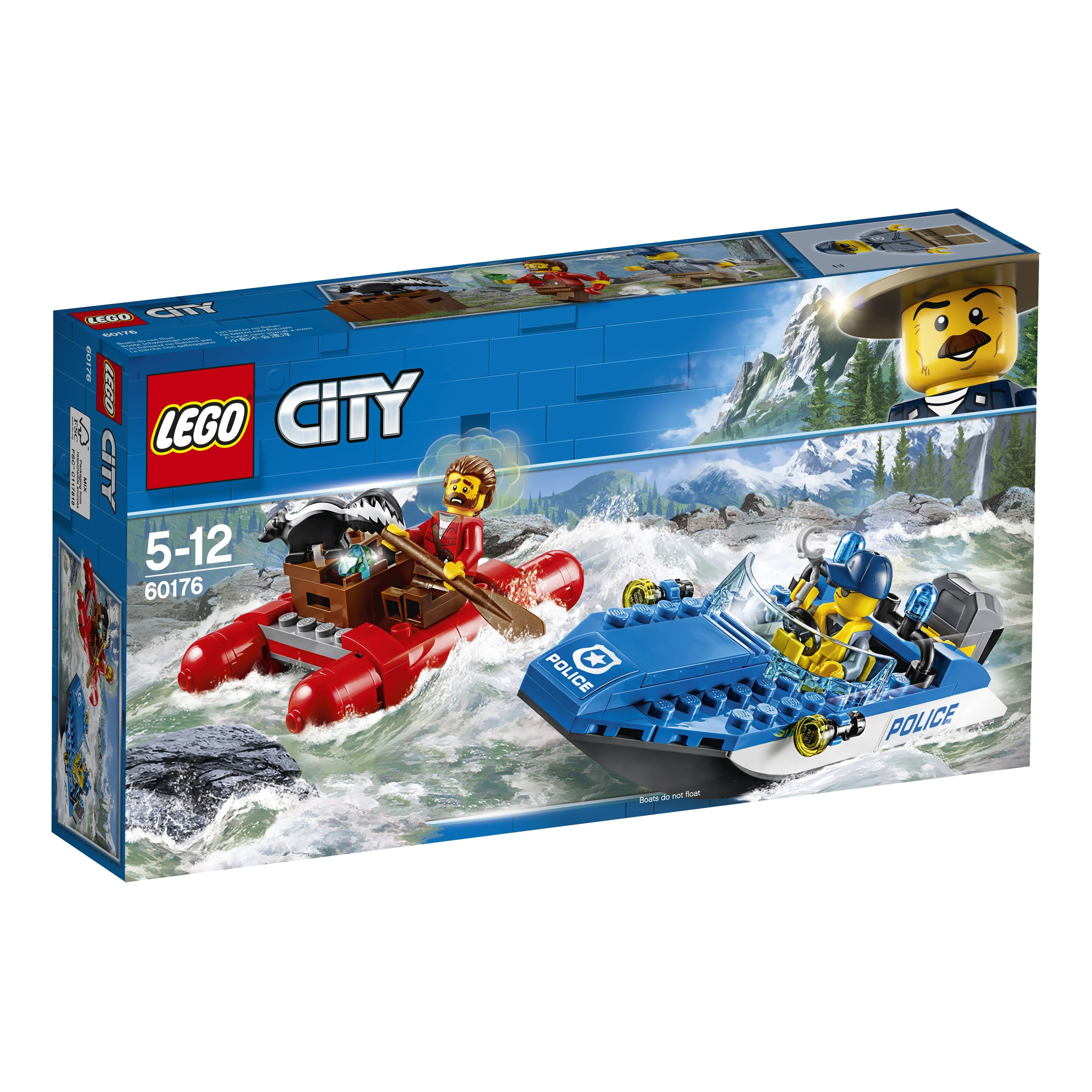 Lego City Wild River Escape Set