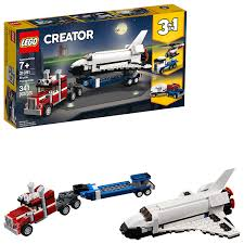 100 How To Make A Lego Truck Mazoncom LEGO Creator 3in1 Shuttle Transporter 31091 Building Kit