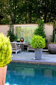 Startling Outdoor Wall Art Decor Decorating Ideas Images In Pool Eclectic Design