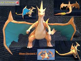 Papercraft Pokemon Mega Charizard