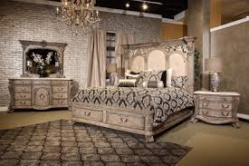Michael Amini Living Room Sets by 4 Piece Villa Di Como Storage Bedroom Set Heritage Finish By