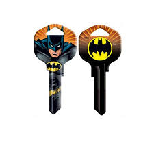 Batman Blank House Key Simply Superheroes