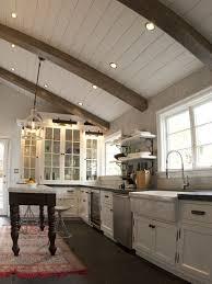 wood ceiling recessed lighting houzz