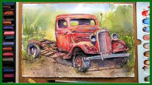 Rusty Old Truck In Watercolor & Pastel! - YouTube Custom Paint On Truck Vehicles Contractor Talk Colorful Indian Truck Pating On Happy Diwali Card For Festival Large Truck Pating By Tom Brown Original Art By Tom The Old Blue Farm Pating Photograph Edward Fielding Randy Saffle In The Field Plein Air Adventures My Part 1 Buildings Are Cool Semi All Pro Body Shop Us Forest Service Tribute Only 450 Myrideismecom Tim Judge Oil Autos Pinterest Rawalpindi March 22 An Artist A