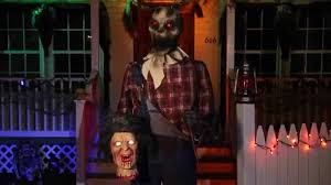 Spirit Halloween Animatronics 2014 by Barnyard Butcher Spirit Halloween Youtube