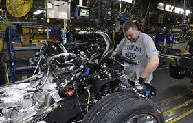 U.S. Factory Output Jumped 1.2 Percent In February | The Spokesman ... Outofshape Ford Disappoints On Earnings The National Kentucky Truck Plant 9 Motor Trend Rolls Out Limited Edition Royals F150 Medium Duty Work Tour Video Hatfield Media Co Historic Photos Of Louisville And Environs Debuts Diesel Makes Official The Bronco And Ranger 2000 New Jobs At Investing 13 Billion Into To Ppare It Video Inside Fords Resigned Truck Plant See How 2015 F Begin Production Of Mediumduty Commercial Trucks In Avon Company Rides Wave North American Profits Michigan Radio Complete Automation Project Ktp