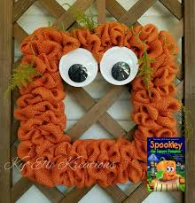 Spookley The Square Pumpkin Book Cover by Spookley Halloween Wreath Pumpkin Wreath Halloween Wreath