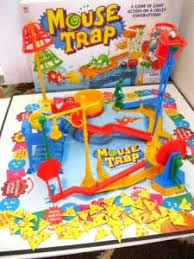 Vintage 1999 MOUSE TRAP Board GAMEComplete Instructions In English
