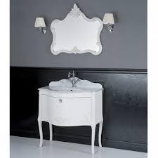 badezimmer set mit marmorplatte carrara bertha