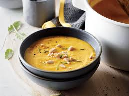 Pumpkin Bisque Recipe Vegan by Pumpkin Soup With Almonds And Sage Recipe Cooking Light
