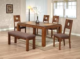 Full Image For Wood Butcher Block Table Chair Set Natural
