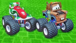 100 Mater Monster Truck Disney McQueens Friends Tow Francesco S Crazy