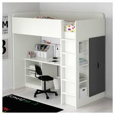 Desk Bunk Bed Combination by Stuva Loft Bed With 2 Shelves 2 Doors White Black Ikea