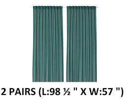 Ikea Vivan Curtains Blue by Amazon Com Ikea Thin Curtains 1 Pair White Home U0026 Kitchen