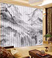 White And Gray Blackout Curtains by Online Get Cheap White Blackout Drapes Aliexpress Com Alibaba Group