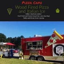 100 Pizza Catering Truck Capo Food Italian Ice Delaware