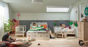 Attic Bedroom Interior Design Ideas Ikea Is Perfect For Kids Plenty Of Bright Colors And A Apartment