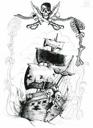 100 Design A Pirate Ship 66 Tattoos Ideas