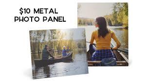 $10 Custom Metal Photo Panel (reg. $40) :: Southern Savers