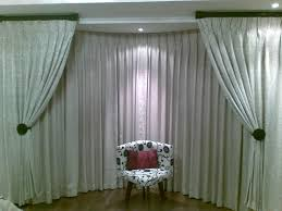 Vertical Striped Window Curtains by Furniture Varnished Bay Window Curtain Pole Brackets Also Bay