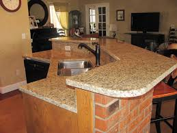 Awesome Kitchen Countertops Have Appealing Curved Countertops